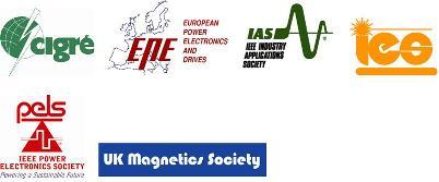 CIGRE, EPE, IEEE IAS, IEEE IES, IEEE PELS,UK Magnetics Society